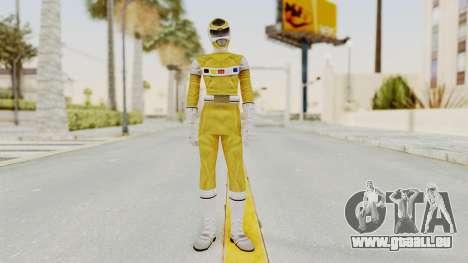 Power Rangers In Space - Yellow pour GTA San Andreas deuxième écran