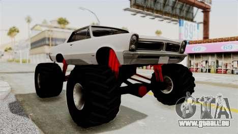 Pontiac GTO Tempest Lemans 1965 Monster Truck für GTA San Andreas