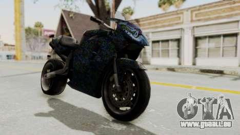 FCR-900 Stunt pour GTA San Andreas vue de droite