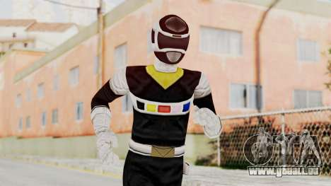 Power Rangers In Space - Black pour GTA San Andreas