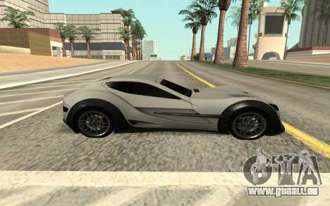 Felino CB7 für GTA San Andreas zurück linke Ansicht