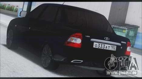 Lada Priora Sedan für GTA San Andreas Seitenansicht
