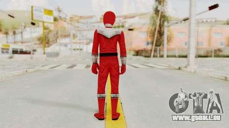 Power Rangers Time Force - Red für GTA San Andreas dritten Screenshot