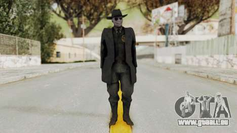 MGSV Phantom Pain SKULLFACE No Mask für GTA San Andreas zweiten Screenshot
