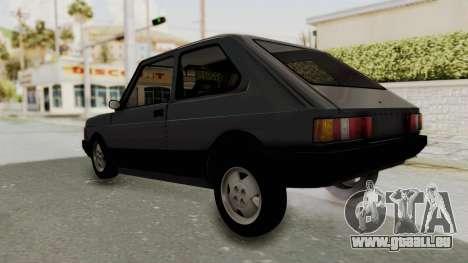 Fiat 147 Spazio TR für GTA San Andreas rechten Ansicht