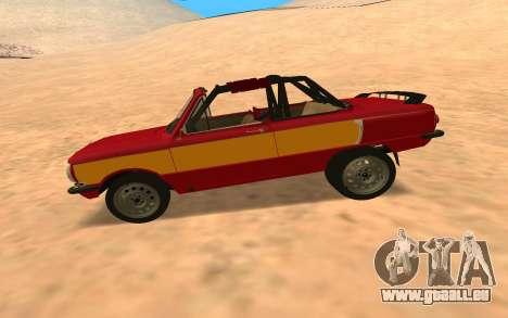 ЗАЗ-968 Offroad-Stil für GTA San Andreas linke Ansicht