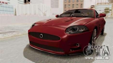 Jaguar XKR-S für GTA San Andreas rechten Ansicht