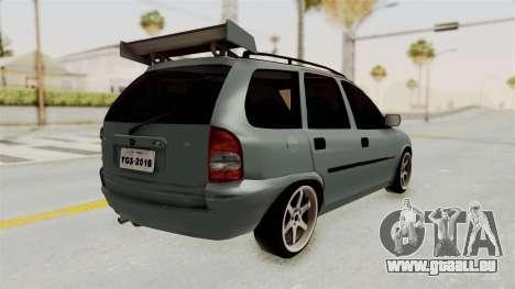 Chevrolet Corsa Wagon Tuning pour GTA San Andreas vue de droite