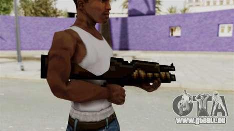 Metal Slug Weapon 1 für GTA San Andreas dritten Screenshot