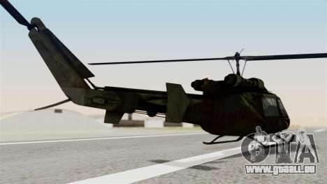 Castro V Attack Copter from Mercenaries 2 für GTA San Andreas linke Ansicht