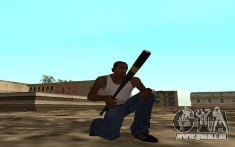 Golden weapon pack pour GTA San Andreas deuxième écran