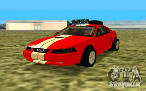 Ford Mustang 1999 für GTA San Andreas