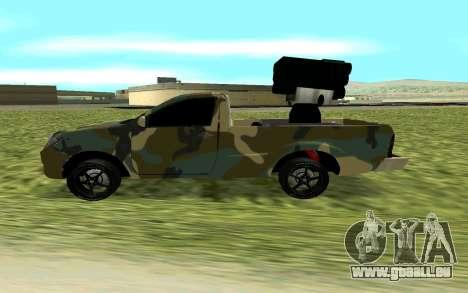 Toyota Hilux 2013 pour GTA San Andreas laissé vue