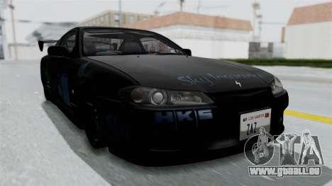 Nissan Silvia S15 RDT pour GTA San Andreas vue de droite