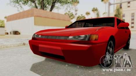 Flash Sport pour GTA San Andreas vue de droite