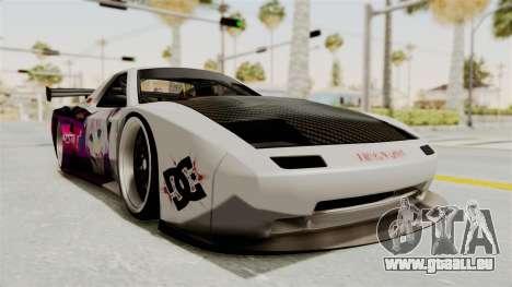 Mazda RX-7 FC Itasha pour GTA San Andreas vue de droite