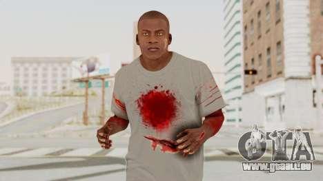 GTA 5 Franklin Zombie Skin für GTA San Andreas