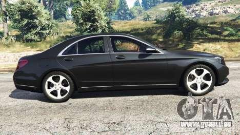 GTA 5 Mercedes-Benz S500 vue latérale gauche