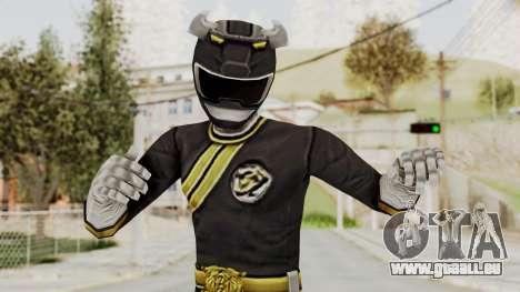 Power Rangers Wild Force - Black pour GTA San Andreas