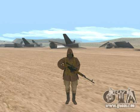 Soviet Sniper pour GTA San Andreas