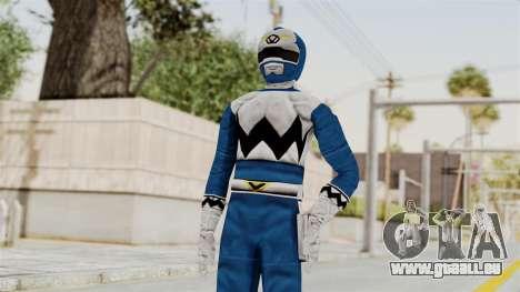 Power Rangers Lost Galaxy - Blue für GTA San Andreas