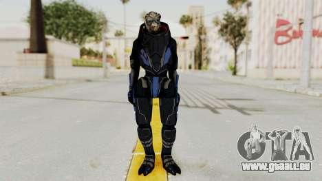 Mass Effect 2 Garrus pour GTA San Andreas deuxième écran