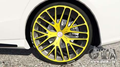 GTA 5 Mercedes-Benz CLA 45 AMG [HSR Wheels] avant droite vue de côté