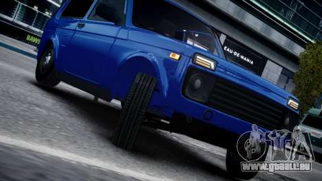Niva 2015 Aze style für GTA 4 linke Ansicht