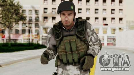 Black Mesa - HECU Marine Beret pour GTA San Andreas