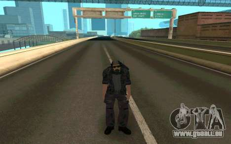 Dragueur de mines pour GTA San Andreas