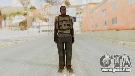 MGSV Phantom Pain RC Soldier T-shirt v2 für GTA San Andreas zweiten Screenshot