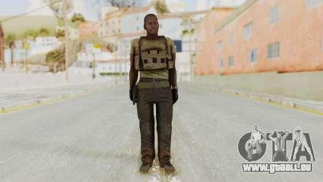 MGSV Phantom Pain RC Soldier T-shirt v2 für GTA San Andreas zweiten Screenshot