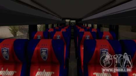 Marcopolo JDT Batu Bus pour GTA San Andreas vue arrière