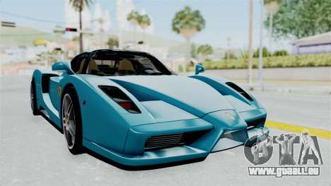 Ferrari Enzo für GTA San Andreas zurück linke Ansicht