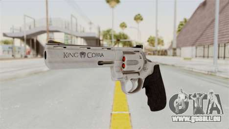 Colt .357 Silver für GTA San Andreas