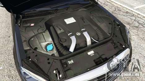 GTA 5 Mercedes-Benz S500 volant