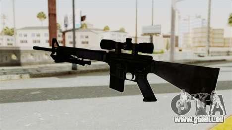 M16 Sniper pour GTA San Andreas deuxième écran