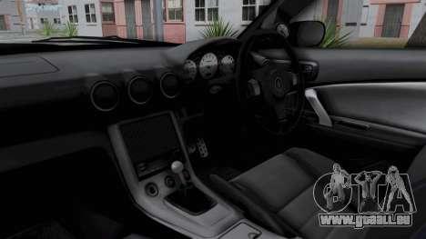 Nissan Silvia S15 RDT pour GTA San Andreas vue intérieure