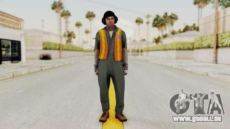 GTA 5 Trevor v1 pour GTA San Andreas deuxième écran