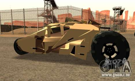 Army Tumbler Rocket Launcher from TDKR pour GTA San Andreas