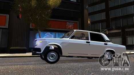 VAZ 2107 AzElow für GTA 4 linke Ansicht