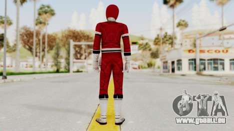 Power Rangers Turbo - Red für GTA San Andreas dritten Screenshot