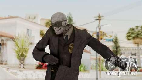 MGSV Phantom Pain SKULLFACE No Hat pour GTA San Andreas