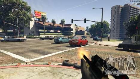 GTA 5 Steyr AUG A1 septième capture d'écran