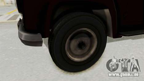 UAZ-300 IVF für GTA San Andreas Rückansicht