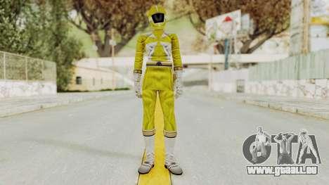 Power Rangers Lightspeed Rescue - Yellow pour GTA San Andreas deuxième écran