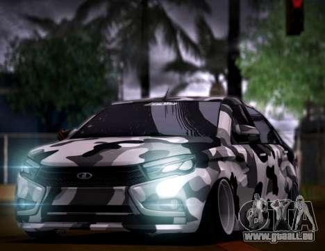 Lada Vesta Camouflage pour GTA San Andreas