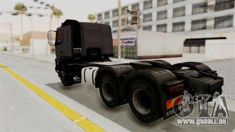 Volvo FMX Euro 5 6x4 pour GTA San Andreas laissé vue