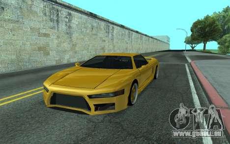 BlueRay's V9 Infernus pour GTA San Andreas
