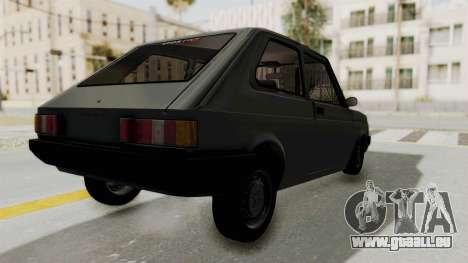 Fiat 147 Vivace pour GTA San Andreas laissé vue